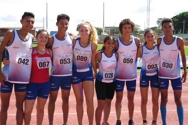 Costa Rica gana centroamericano juvenil de atletismo