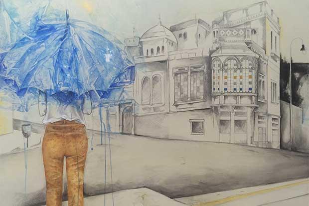 El arte revive a barrio Amón