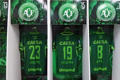 Clubes brasileños prestarán jugadores al Chapecoense para la próxima temporada