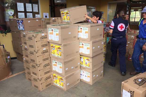 Nestlé donó 12.400 productos para damnificados