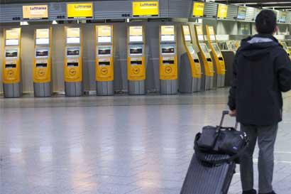 Lufthansa admite que no puede bloquear huelga de pilotos