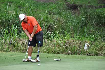 Tico jugará torneo europeo de Golf adaptado