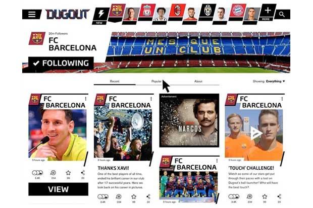 Nueva plataforma digital de fútbol creada por clubes