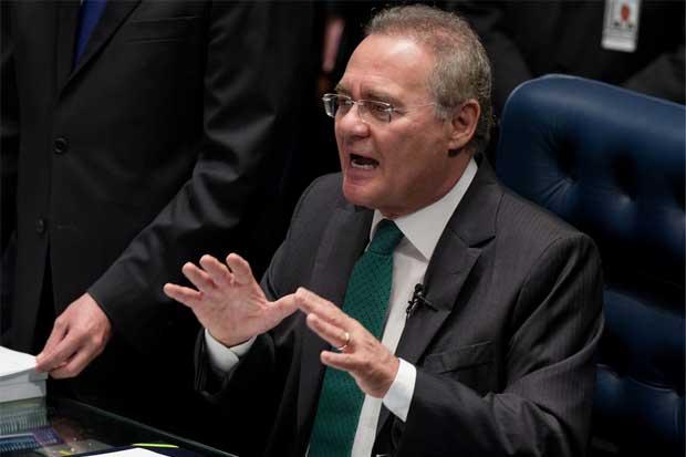 Senado brasileño reacio a suspender su dirigente