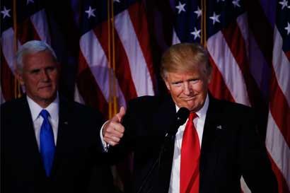Empresarios y analistas esperarían para medir impacto de Trump
