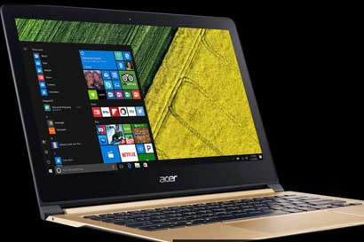 Laptops Acer recibieron el premio a la tecnología más avanzada