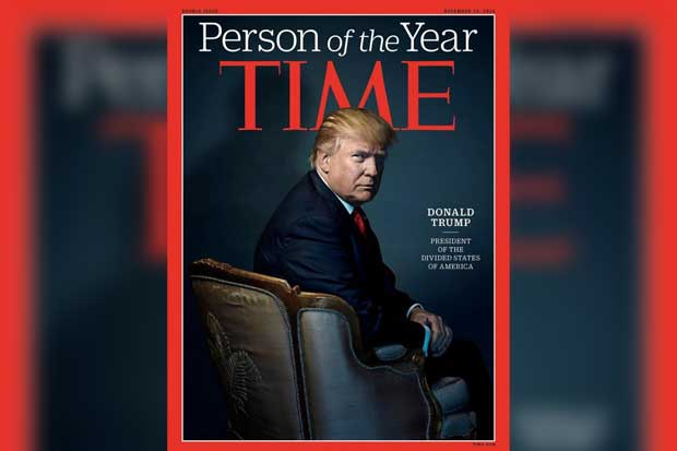 Donald Trump, persona del año para la revista Time