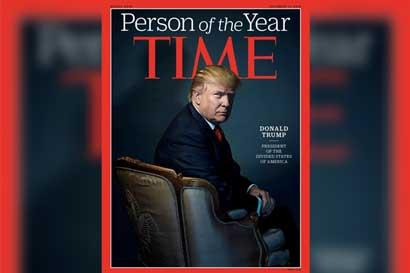 Donald Trump, persona del año para la revista Time