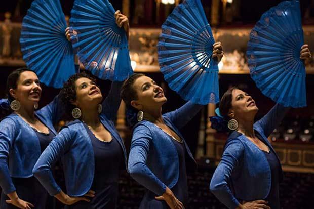 Aniversario al estilo flamenco