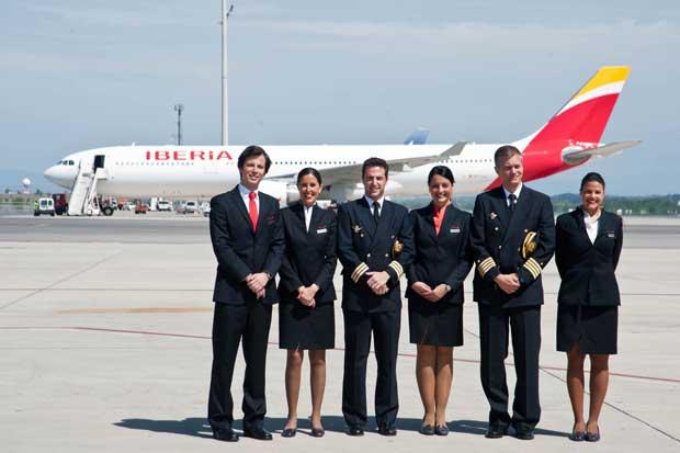 Iberia, aerolínea más puntual del mundo, según estadísticas