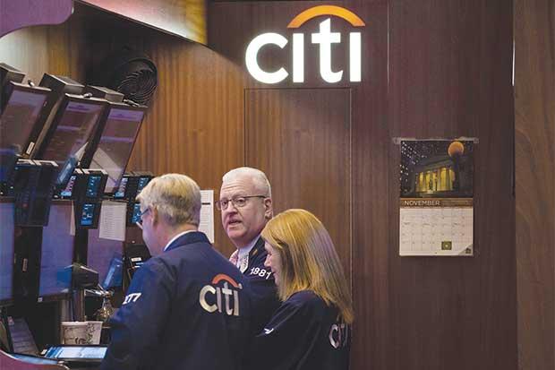Citigroup se une a JPMorgan y BofA al predecir aumento en venta de valores
