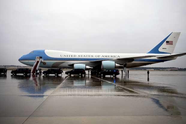El Air Force One cuesta millones porque es una Casa Blanca aérea
