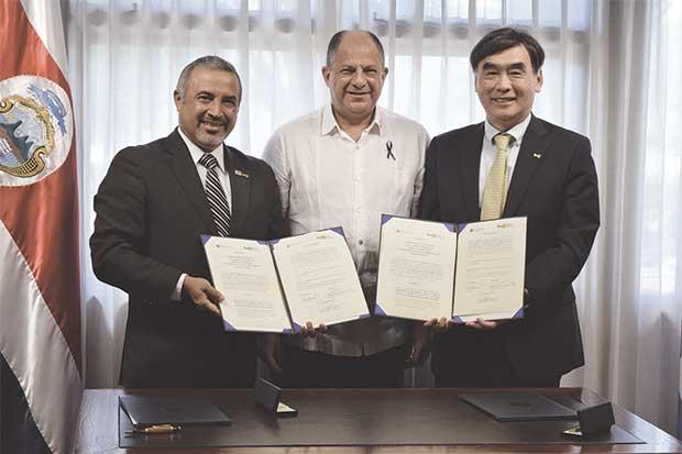 INA firma acuerdo de Cooperación con institución de Corea