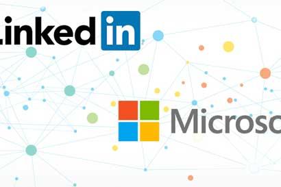 Microsoft compró LinkedIn por $26.200 millones