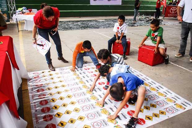 800 niños se capacitaron en seguridad vial