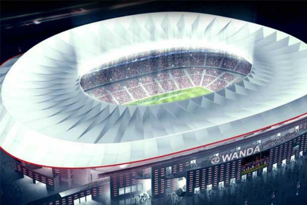 Atlético de Madrid presenta nuevo escudo y nombre de estadio