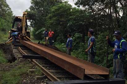 Servicio de tren San José-Cartago suspendido hasta el jueves