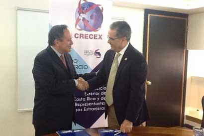 Costa Rica y Bolivia aumentarían negocios con nuevo acuerdo