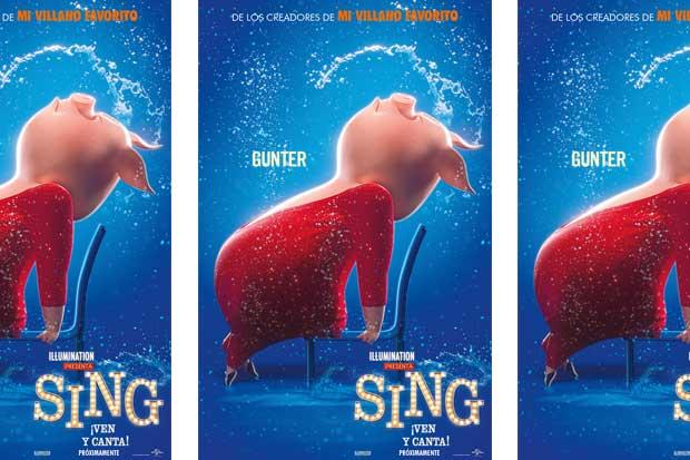 """""""Sing: Ven y Canta"""" tendrá un preestreno este fin de semana"""