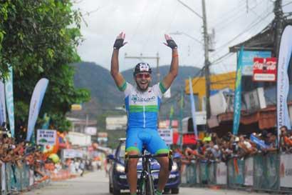 Daniel Jara gana primera etapa de Vuelta a Costa Rica en su debut