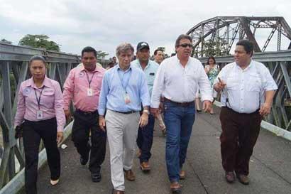 Puente binacional con Panamá iniciaría obras en abril del próximo año