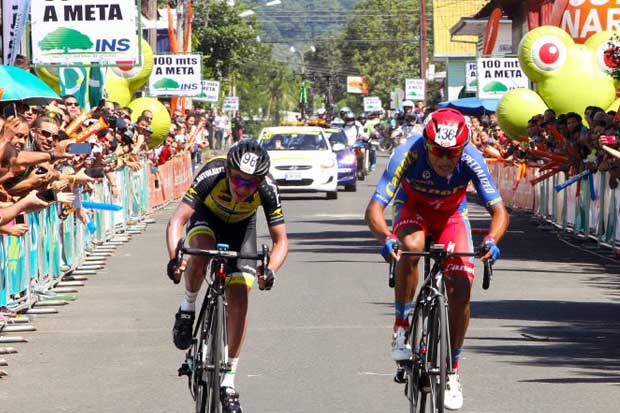 Daniel Jara mantiene liderato en Vuelta a Costa Rica