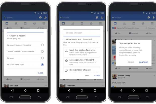 Facebook implementará medidas contra noticias falsas