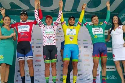 César Rojas conquista tercera etapa de Vuelta a Costa Rica