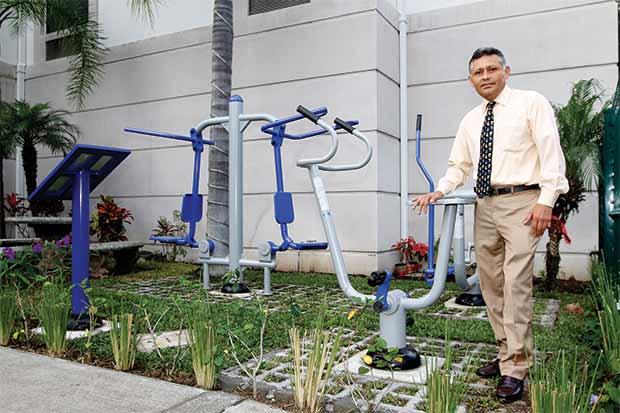 Sleep Inn San José lanzó concepto de gimnasio al aire libre