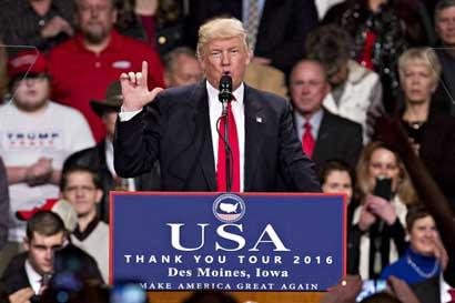 Intento de bloquear a Trump llega el lunes a Colegio Electoral