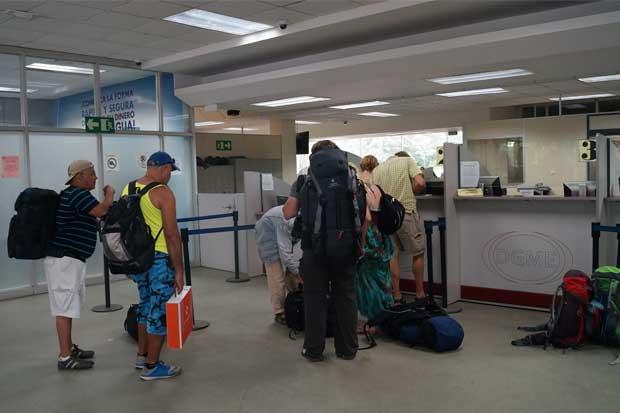 Migración inicia control en puestos fronterizos