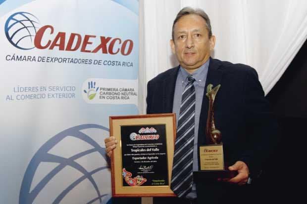 Premio Exportador Agrícola:    Tropicales del Valle