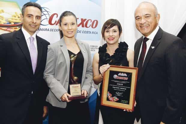 Premio Exportador Industrial: Calox