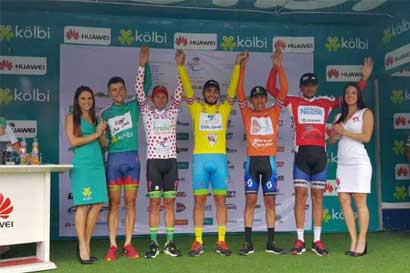 Bryan Salas triunfa en Guápiles en Vuelta a Costa Rica