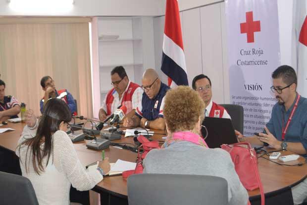 Cruz Roja recibió ¢822 millones para damnificados por huracán
