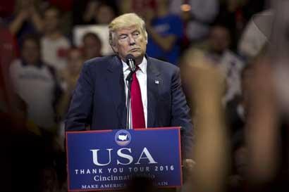 Trump pide vetar resolución de ONU sobre asentamientos israelíes