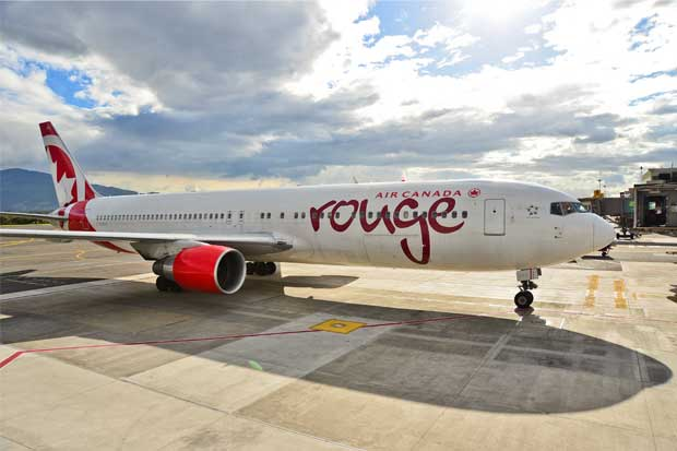 Air Canada inauguró vuelo directo Montreal-San José