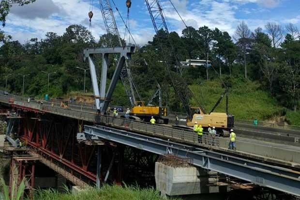 Puente de la platina tendrá cierres parciales hoy y mañana