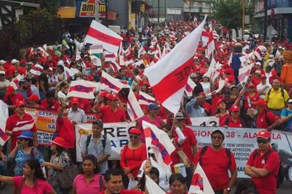 País tuvo menos protestas, según Estado de la Nación