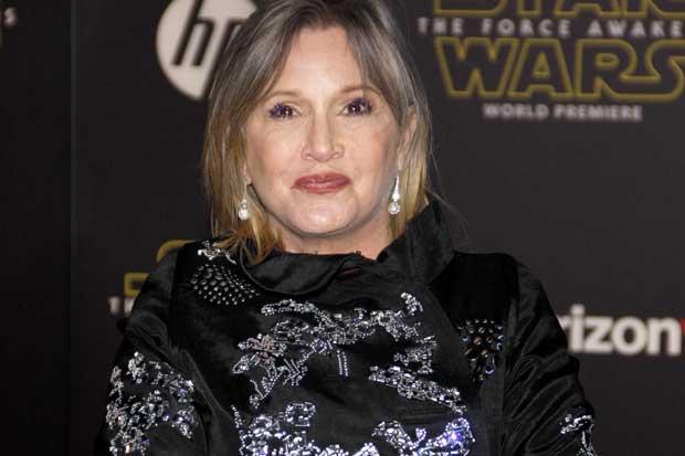 Murió Carrie Fisher, la Princesa Leia de 'Star Wars'