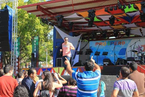 Parque Diversiones iniciará año con conciertos y juego de pólvora