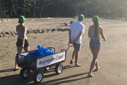 Campaña invita a dejar playas limpias