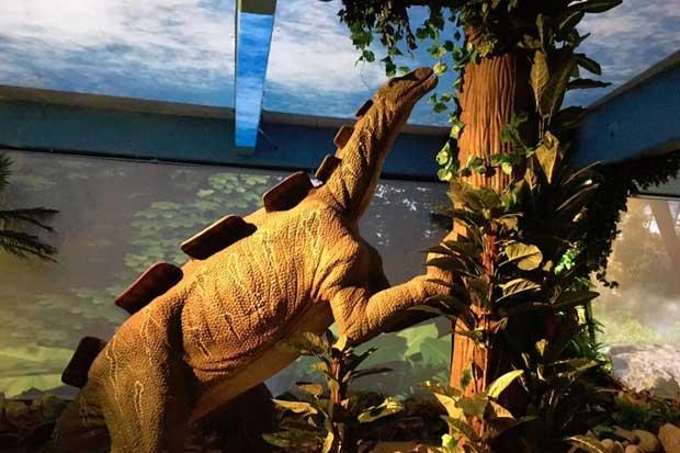 Dinoworld tendrá 22 dinosaurios en vacaciones