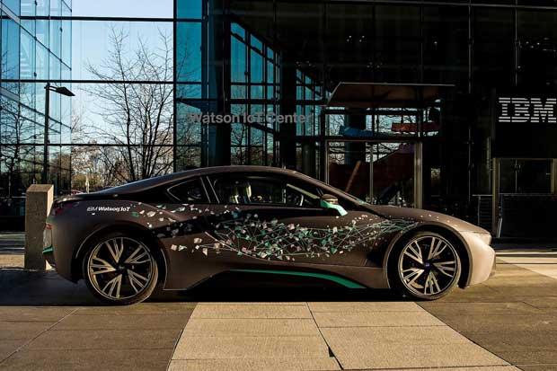 IBM y BMW utilizarán capacidades cognitivas en IoT para autos del futuro