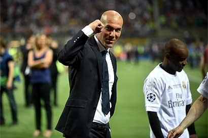 Zidane de aniversario