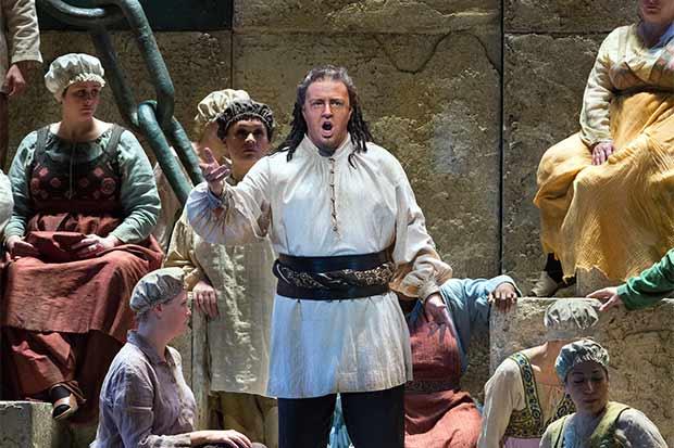 "Ópera ""Nabucco"" se proyectará este sábado desde Nueva York"