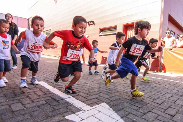 Lincoln Plaza organiza carrera para niños