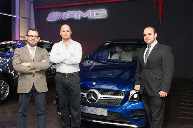 Mercedes-Benz presenta su nuevo GLC Coupé