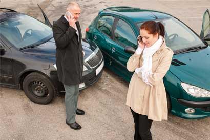 Tránsito insta a conciliar en caso de accidente menor
