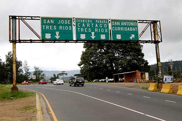 Gobierno valora concesión para ampliar ruta a Cartago